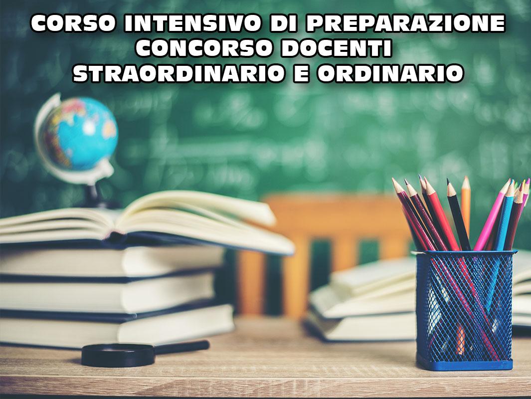 Riunione per corso di preparazione al concorso docenti o/s